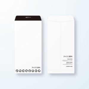 封筒デザイン【長3封筒】ランドルト環の眼科用デザイン封筒